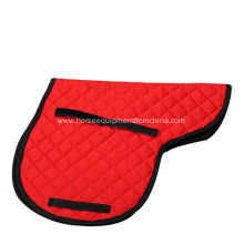 Horse Cotton Quilted Jumping English Saddle Pad