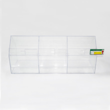 Clear acrylic candy display storage boxes
