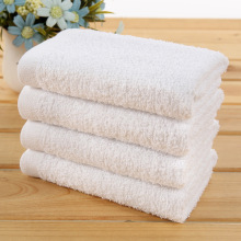 "16""*30"" White 100% Cotton Hotel Hand Towel"