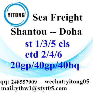 Shantou Shipping Services to Doha