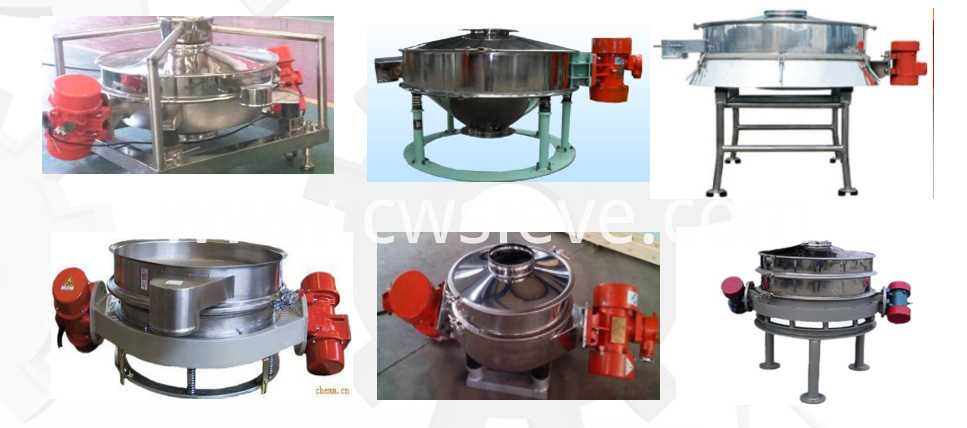 Vibrating Separator for Flour
