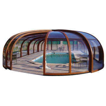 Winter Sale Australia Pool Enclosure With Solid Roof