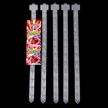 POP PP plastic hanging display clip strip