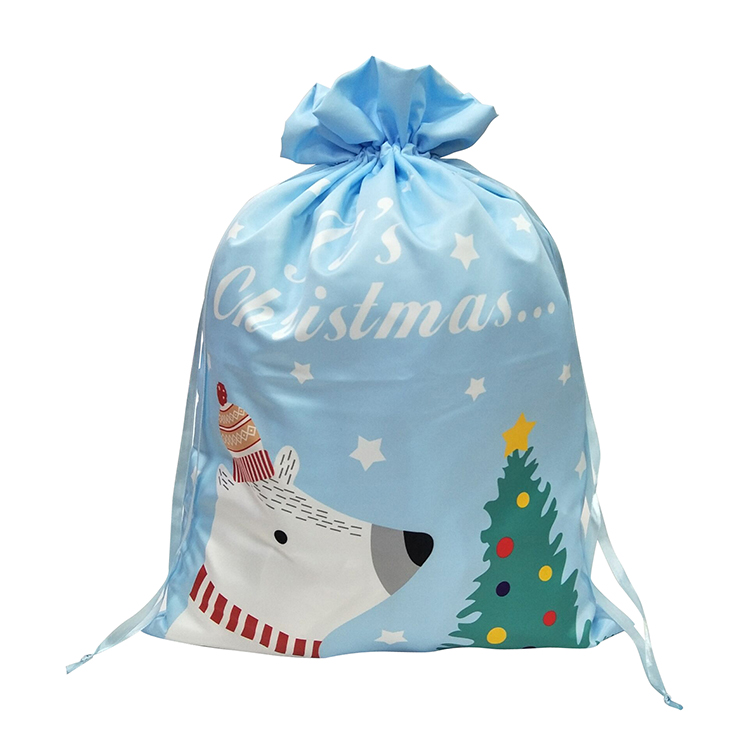 Christmas Bear Pattern Sack