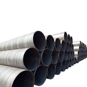 Anticorrosion Erw Carbon Steel Spiral Welded Steel Pipe