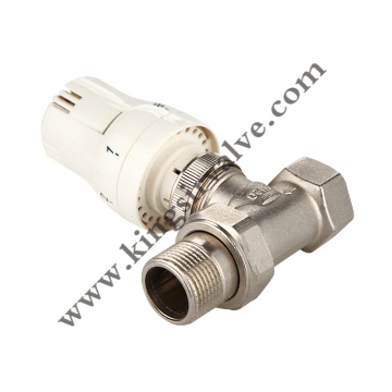 Nickel plated angle valve
