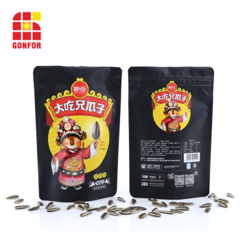 Matte printed Doypack pouch for seed packaging