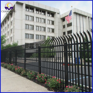 Steel Palisade Fence Wrought Iron Palisade