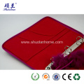 Customized design beatiful felt notebook cover