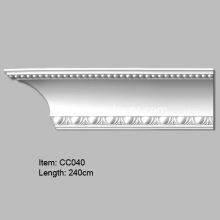 PriceList for for Carved Cornice Mouldings European Design PU Cornice Crown molding export to Indonesia Importers