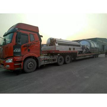latest environmental waste tyre pyrolysis plant