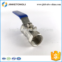 "JKTL1B007 remote control 1pc float teflon stainless steel 3/8"" ball valve"