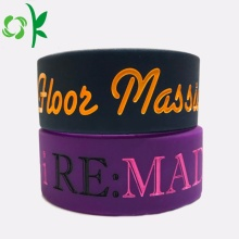 BPA Free High-end Silicone Bracelet For Promotion Gift