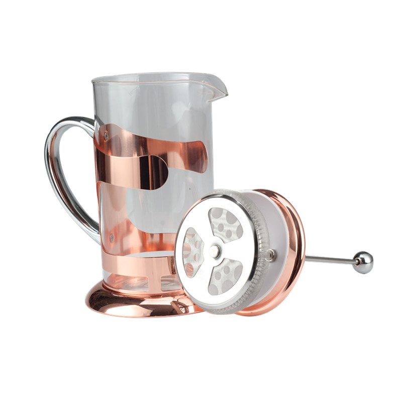 Classic Glass French Press Coffee Maker