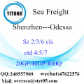 Shenzhen Port Sea Freight Shipping To Odessa