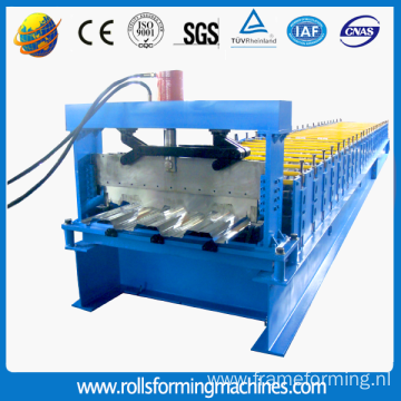 high quality automatic floor decking roll forming machine