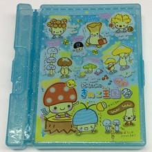 Plastic portable paper and pen convenient storage box