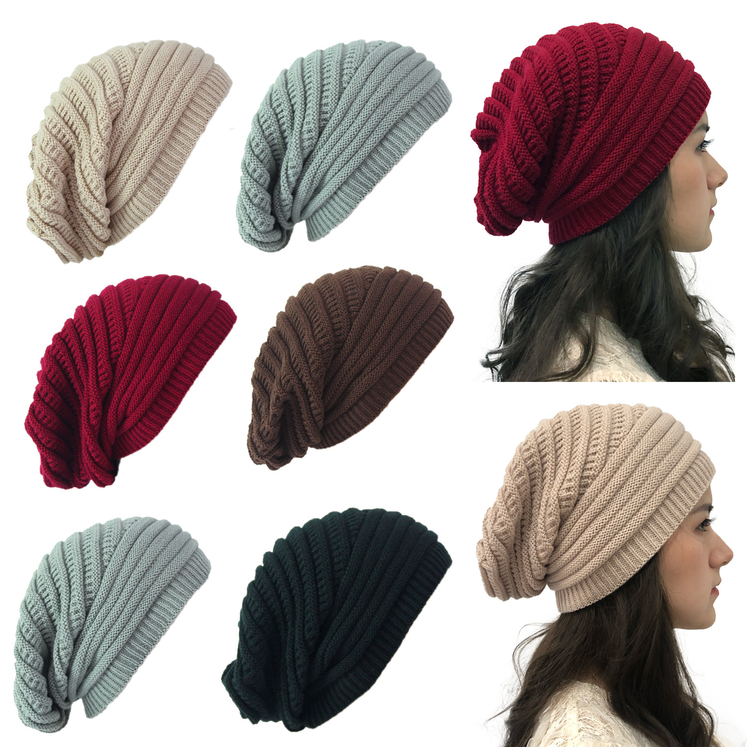Top selling autumnwinter hats in Europe and America