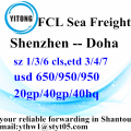 Ocean Freight Agent From Shenzhen to Doha