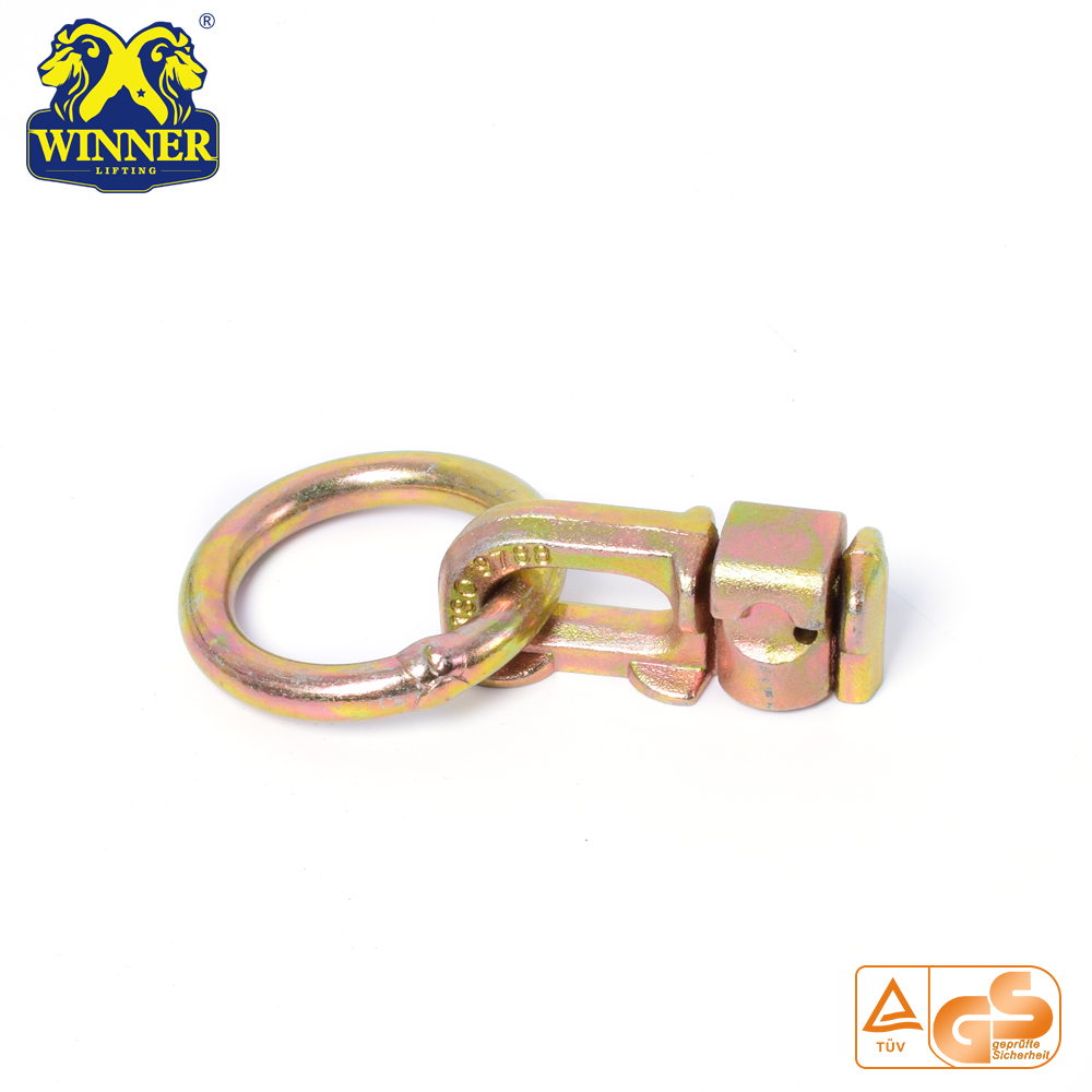 Zinc Plated Factory Price Double Stud Fitting With O Ring