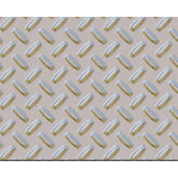 one bar Aluminum Checkered plate sheet