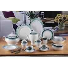 125pcs round porcelain dinner set dinnerware