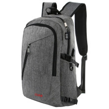 17 Inch Men School Backpack Laptop USB