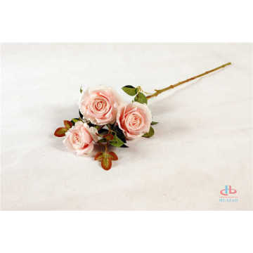 Silk rose flowers artificial decoration potted flower