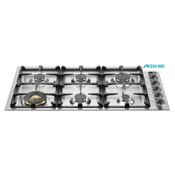 Master Series SS Cooktop 6 Burner