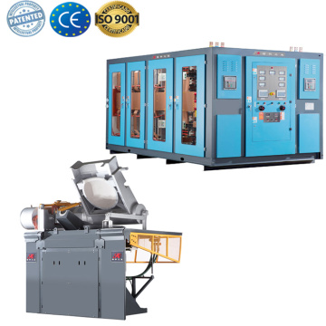 Metal casting inductotherm melting furnace sale