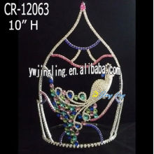 Jingling Colorful Birds 10 Inch Animal Crown