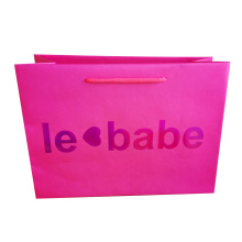 Discount Price Pet Film for Paper Shopping Bags With Handles Paper Shopping Luxury Bag supply to Guadeloupe Wholesale