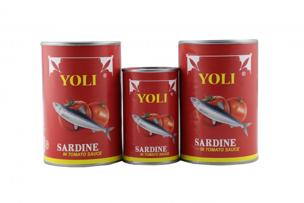 Grade A Canned Sardine in Vegetable Oil