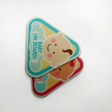 Digital printing die cutting pvc removable Floor Stickers