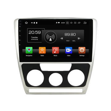 car stereo for Octavia 2007