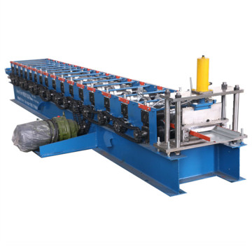 Aluminum door frame making roll forming machine