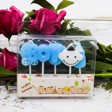 Cartoon Happy Birthday Candles