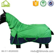 Wholesale price stable quality for Waterproof Horse Rug 1680d High Neck Polyester Horse Rug supply to Portugal Factory