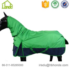 China Exporter for Waterproof Breathable Horse Rug 1680d High Neck Polyester Horse Rug supply to Poland Exporter