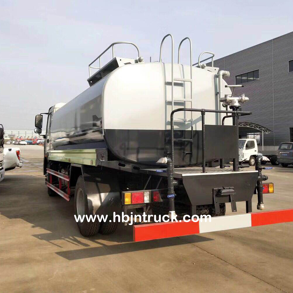 Stainless Steel Water Tank Truck