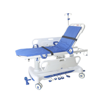 Hydraulic stretcher cart 1