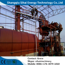 Continuous Vacuum Distillation Plant for Waste Engine Oil