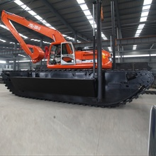 Medium Wetland Amphibious Excavator