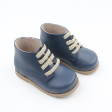 Leather Winter Baby Boot Kids Rubber Bottom Boots