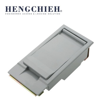 Good Quality for Panel Locks Alu Magnetic Powder-coated Electrical Cabinet Door Latch export to Venezuela Wholesale