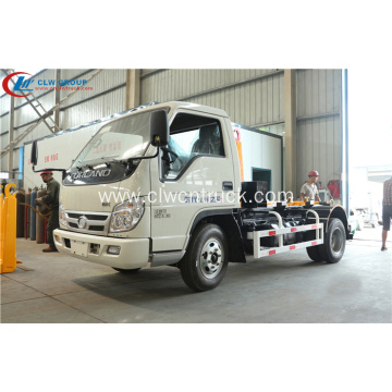 2019 new FOTON 5cbm hook lifter truck