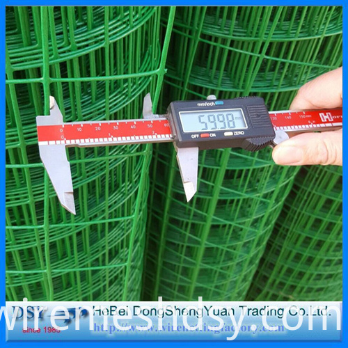 2x2 pvc coated welded wire mesh