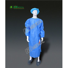 Polypropylene+PE Film Lamination  isolation gown
