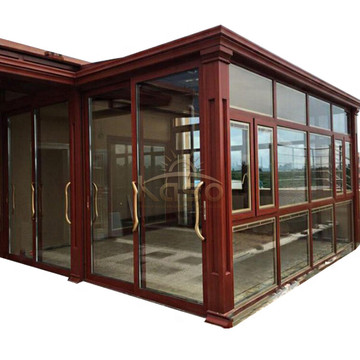 High Quality for Sunroom Glass House Prefab Modern House Glass Prefabricated Aluminium Sunroom export to Bermuda Manufacturers