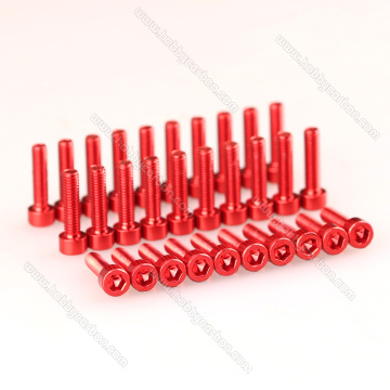 I-M3 hex socket cap head aluminium screw